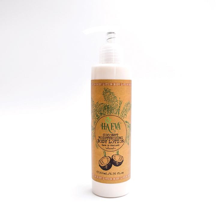 Combo 2 chai Lotion tinh dầu Dừa Haeva 200ml