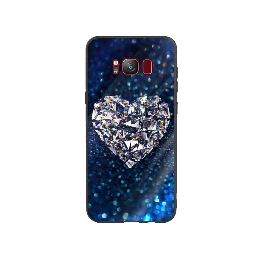Ốp Lưng Kính Cường Lực cho điện thoại Samsung Galaxy S8 - Heart 11