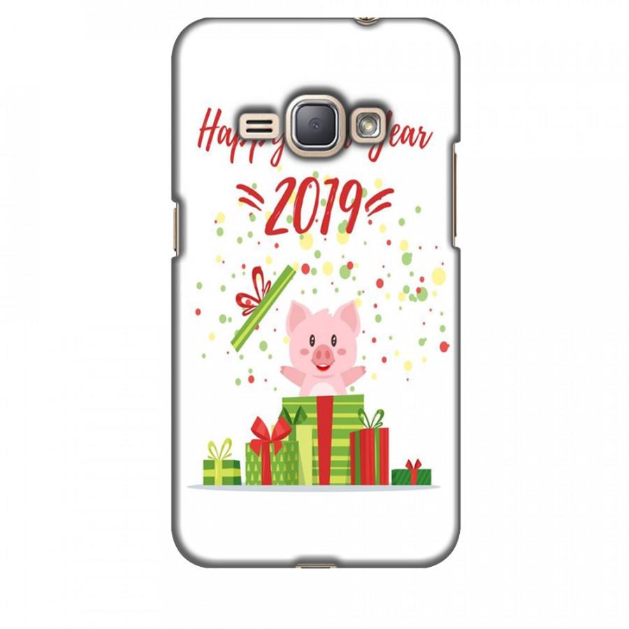 Ốp lưng dành cho điện thoại  SAMSUNG GALAXY J1 2016 Happy New Year Mẫu 3