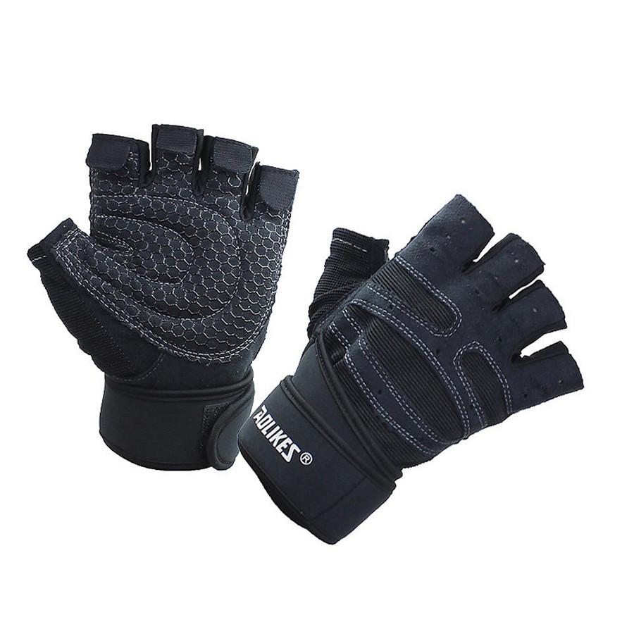 Bộ đôi găng tay thể thao tập GYM Aolikes AL109 (1 đôi)