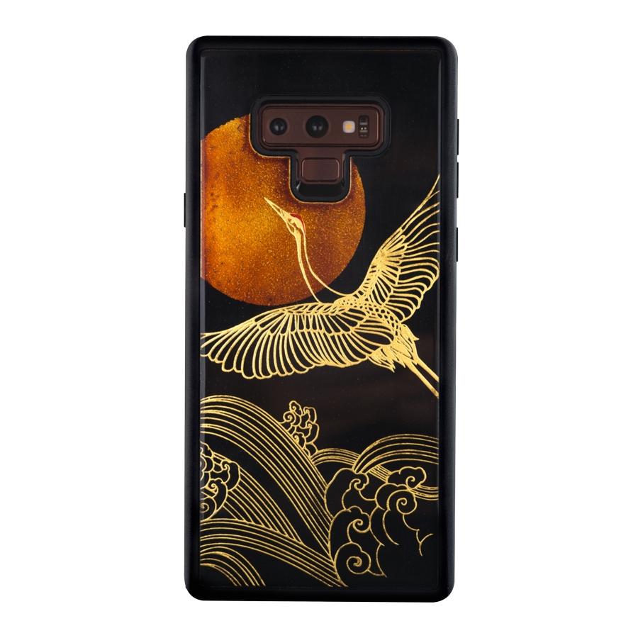 Ốp Lưng Điện Thoại Sơn Mài Chim Hạc Phù Tang Dành Cho Samsung Galaxy Note 9 La Sonmai