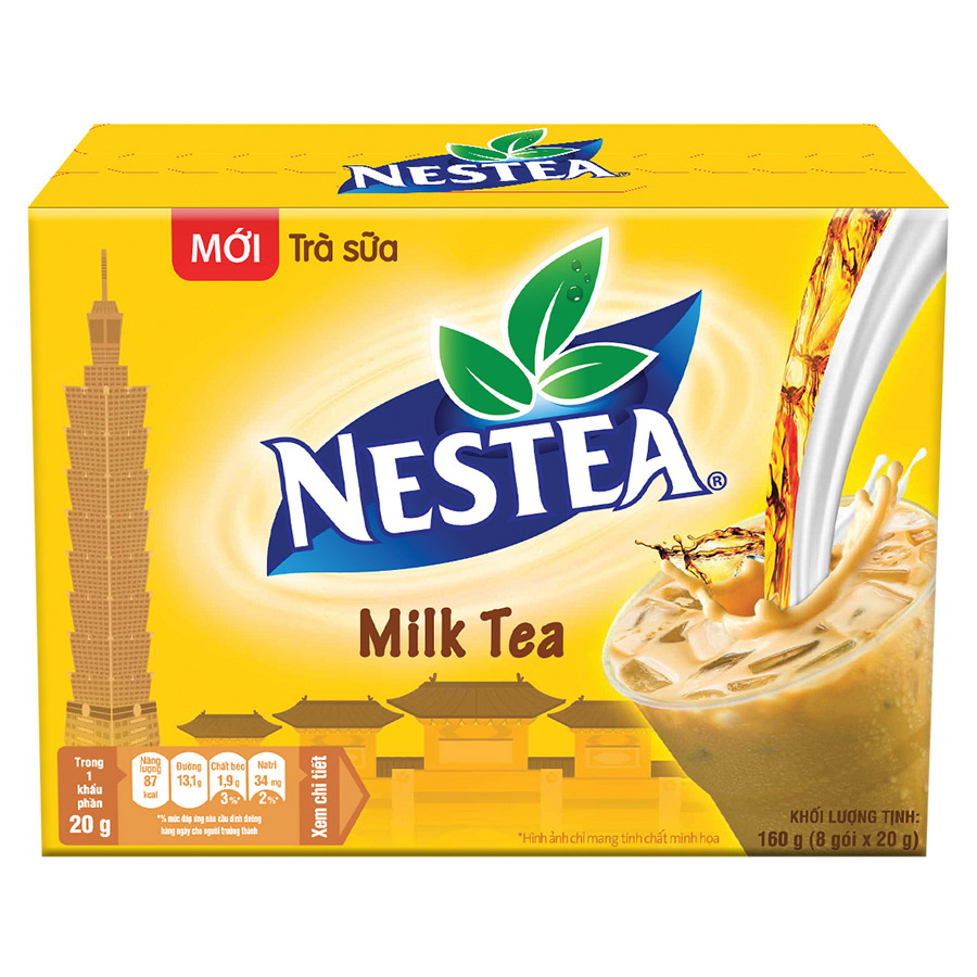 Trà Sữa NESTEA (8 Gói x 20g) - 1008588 , 8840033160744 , 62_7621259 , 35000 , Tra-Sua-NESTEA-8-Goi-x-20g-62_7621259 , tiki.vn , Trà Sữa NESTEA (8 Gói x 20g)