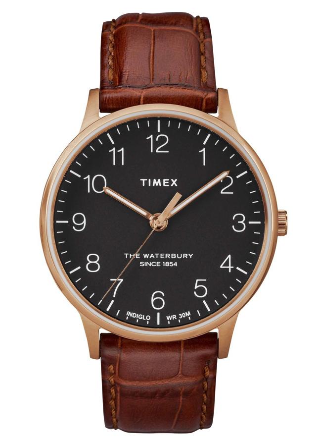 Đồng Hồ Nam Dây Da Timex Waterbury Classic 40mm - TW2R71400