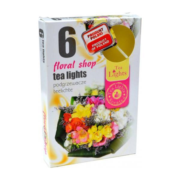 Hộp 6 nến thơm Tea lights Admit Floral shop ADM8613 (Shop hoa tươi)