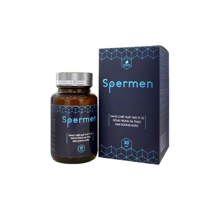 Thực phẩm chức năng Viên Uống Sinh Lý Nam Spermen - Hộp 30 viên