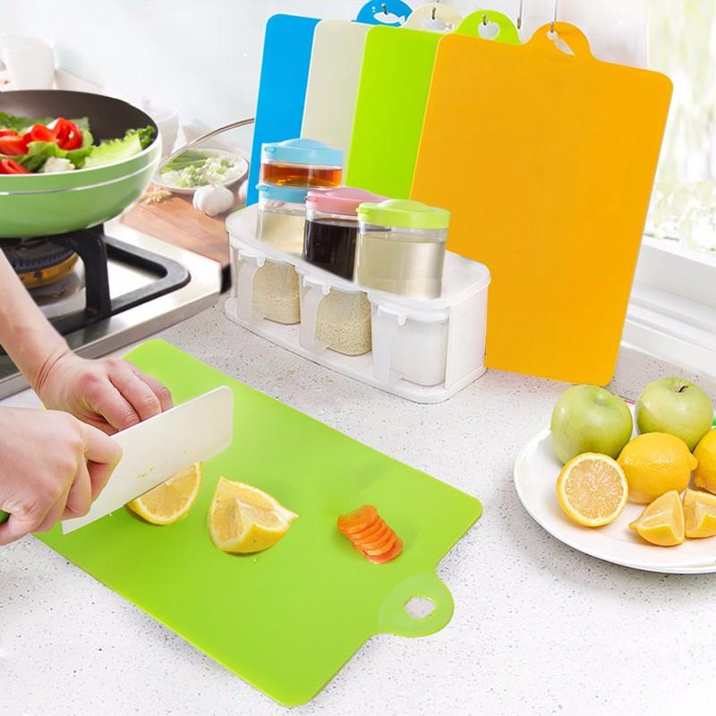 Bộ 4 thớt nhà bếp thích hợp với các căn hộ tiện dụng - Hàng nội địa Nhật