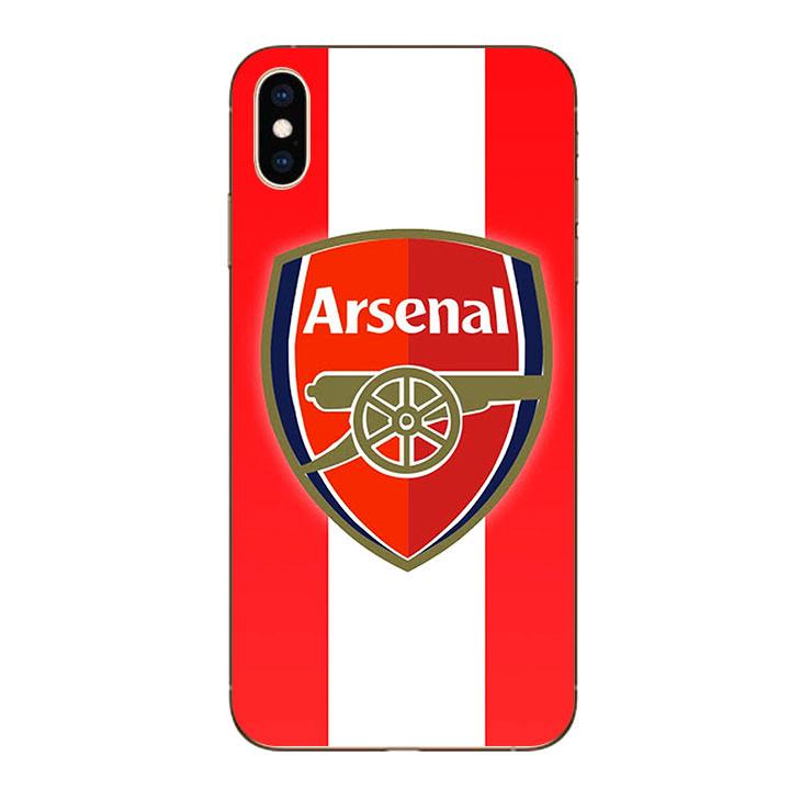 Ốp lưng dẻo cho Iphone XS Max - Clb Arsenal 01