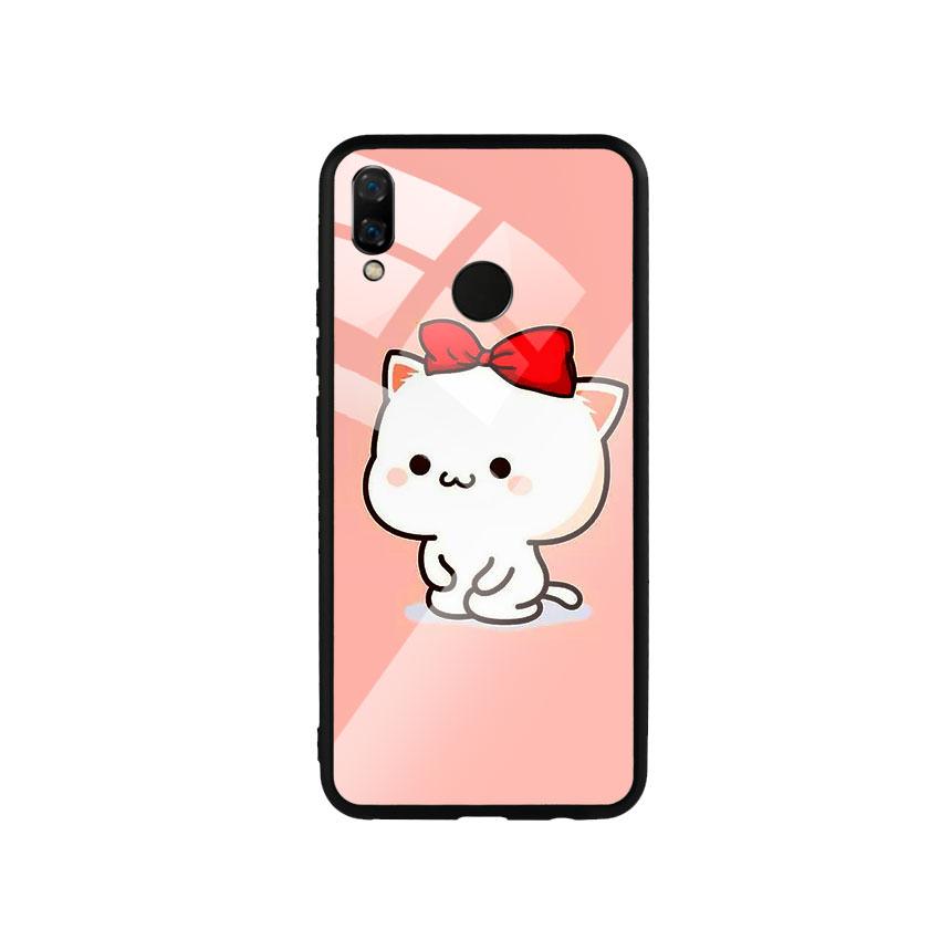 Ốp Lưng Kính Cường Lực cho điện thoại Huawei Nova 3i - Cute