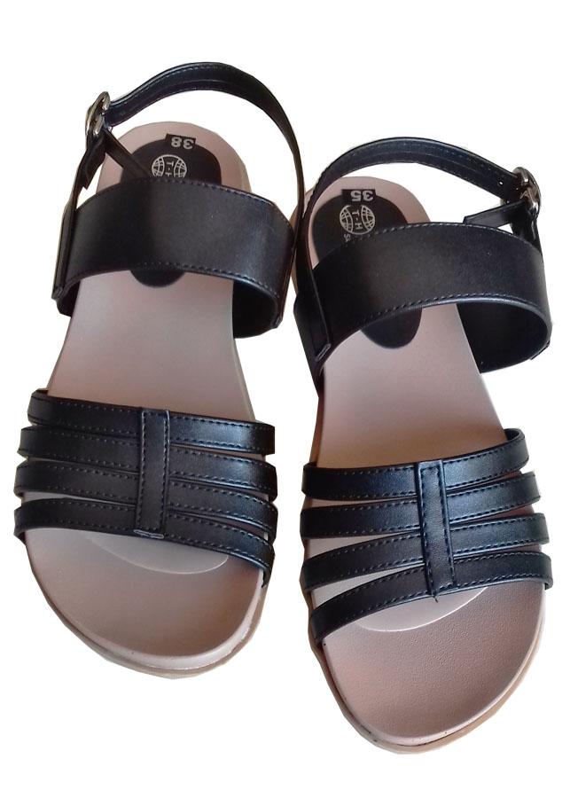 Dép sandal nữ da bò cao cấp Trường Hải SD044