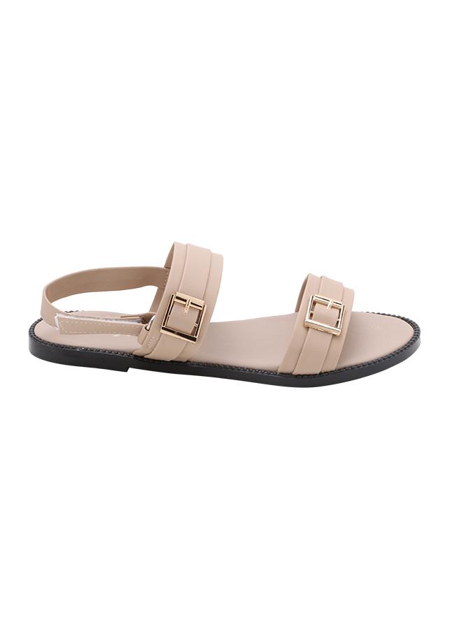 Giày Sandal Nữ Đế Bệt CN 001 - Da