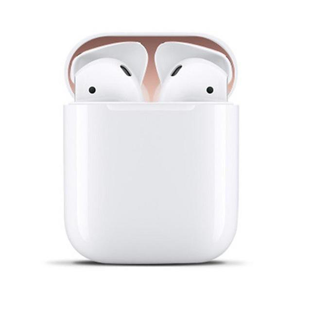 Metal Dust Guard for Apple Airpods Case Shell Skin