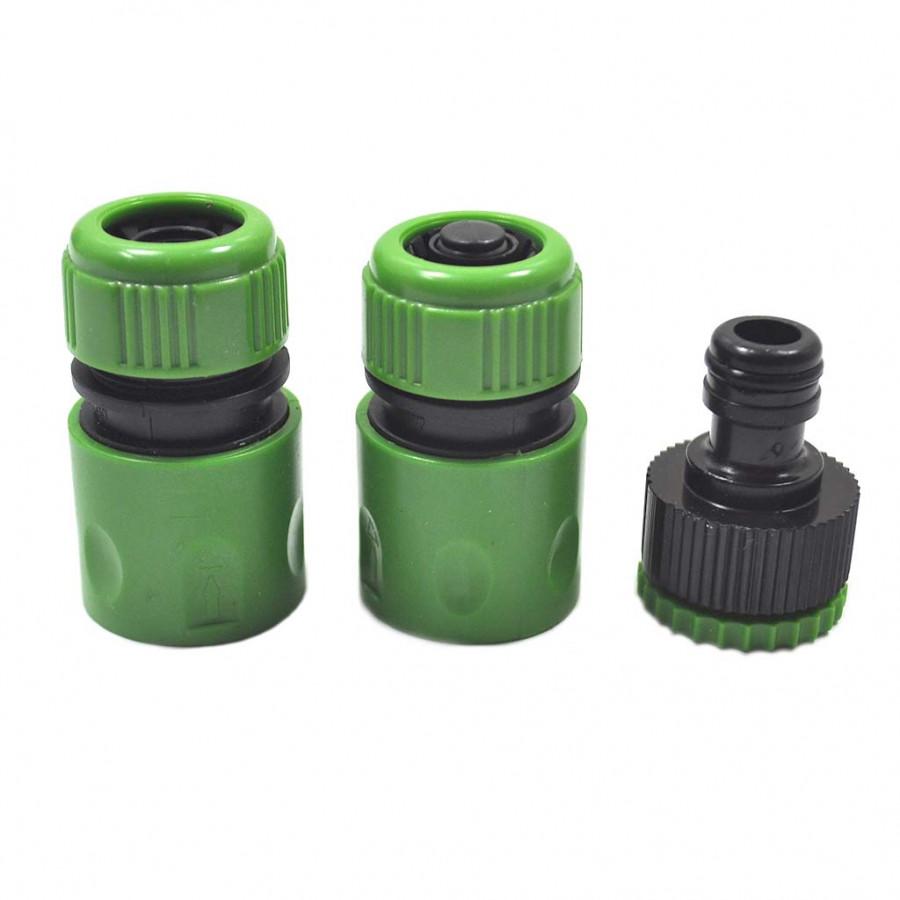 Bộ 3 cút nối nhanh ống nước xanh