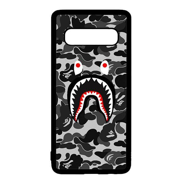 Ốp lưng điện thoại dành cho Samsung S10 Plus Bape Xám Đen - 786029 , 9940631728182 , 62_15025288 , 150000 , Op-lung-dien-thoai-danh-cho-Samsung-S10-Plus-Bape-Xam-Den-62_15025288 , tiki.vn , Ốp lưng điện thoại dành cho Samsung S10 Plus Bape Xám Đen