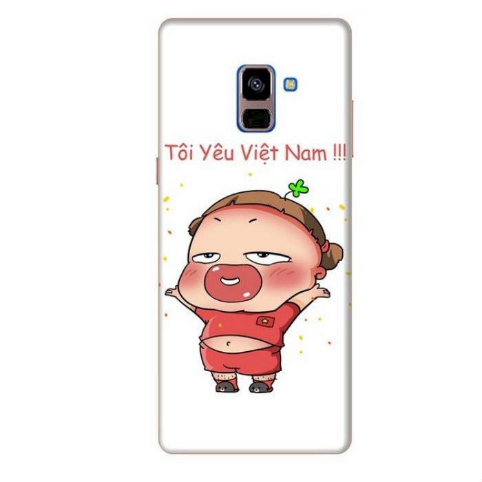 Ốp Lưng Dành Cho Samsung Galaxy A8 Plus 2018 Quynh Aka 1