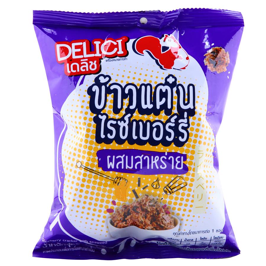 Bánh Gạo Delici Thái Lan Vị Rong Biển (48g)