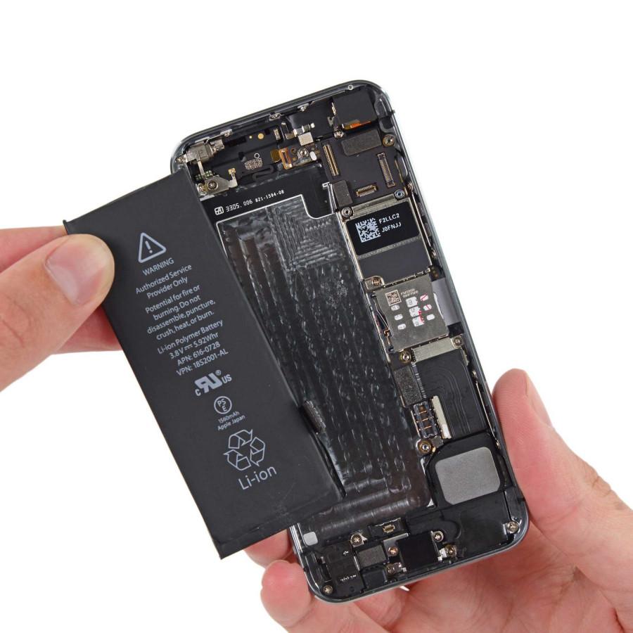 Pin dùng cho iphone 5, 5s, bán pin thay cho iphone, có hướng dẫn tự thay pin iphone - Tặng kèm tô vít - Hàng nhập khẩu