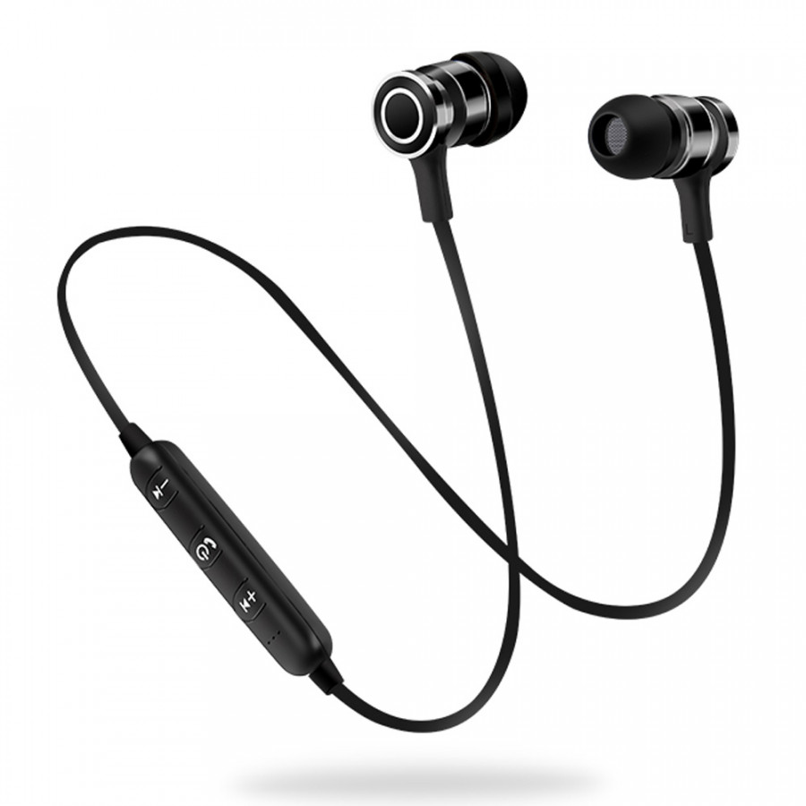 S6-6 Wireless Headset HD Stereo Sound BT 4.1 Earphone Headphones Earphone Sport BT Headphone for iPhone Samsung