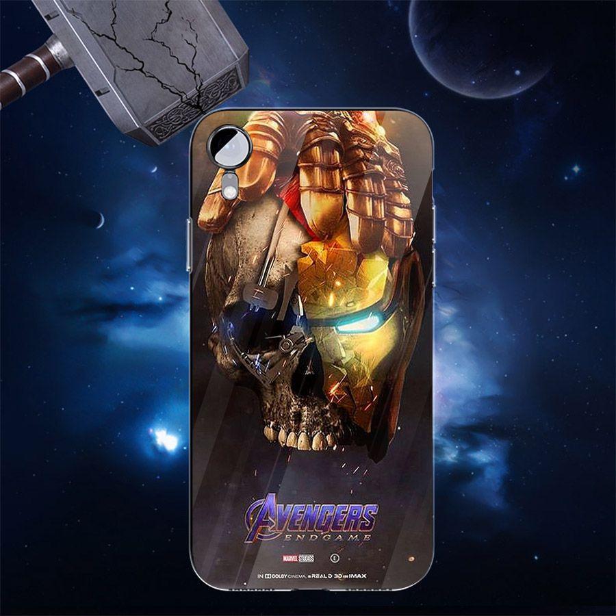 Ốp kính cường lực dành cho điện thoại Samsung Galaxy S10 - S10 Plus - Biệt đội siêu anh hùng - bdsah017