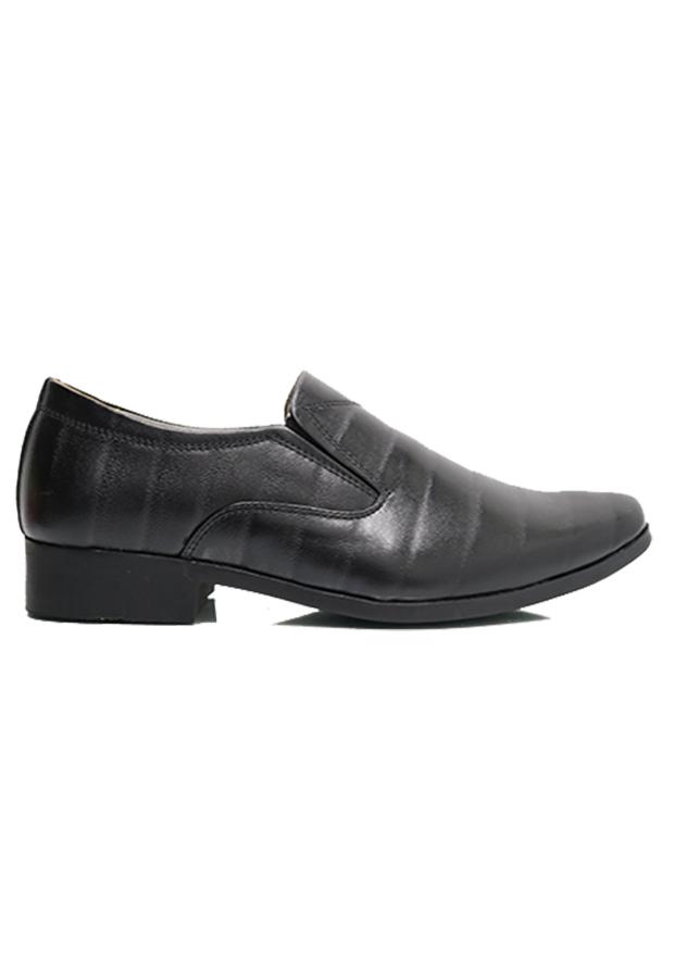 Giày công sở chia khoang màu đen
