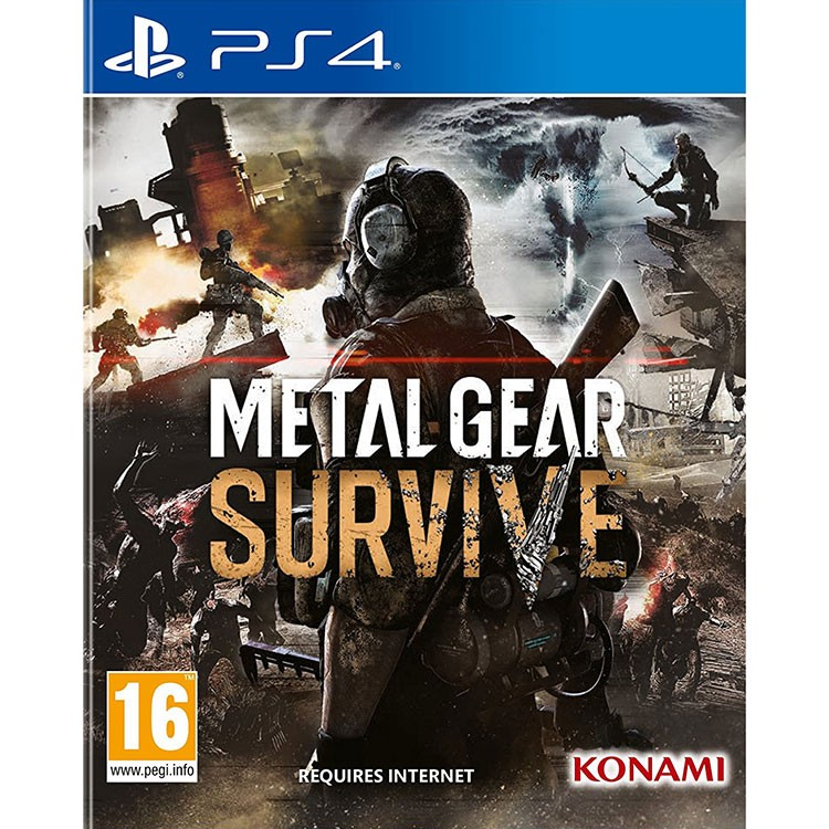 Đĩa Game Ps4: Metal Gear Survive