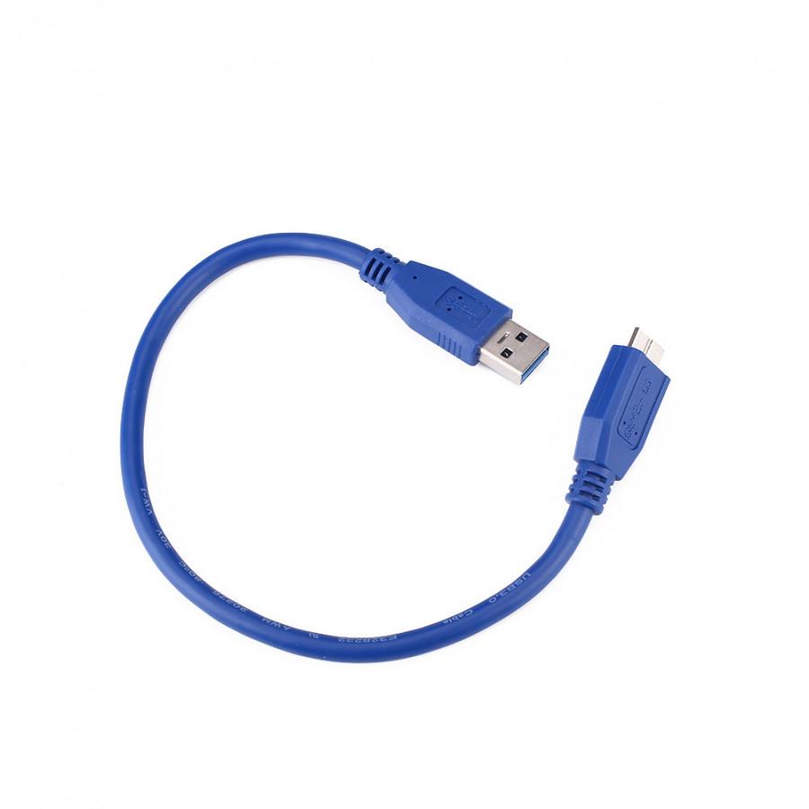 Dây Cáp Kết Nối USB 3.0 A Và Micro B 30cm - 1280707 , 2547225800650 , 62_12147739 , 253000 , Day-Cap-Ket-Noi-USB-3.0-A-Va-Micro-B-30cm-62_12147739 , tiki.vn , Dây Cáp Kết Nối USB 3.0 A Và Micro B 30cm