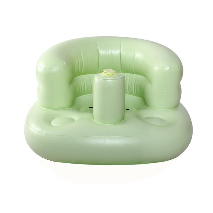 Ghế hơi tập ngồi tự bơm cho bé
