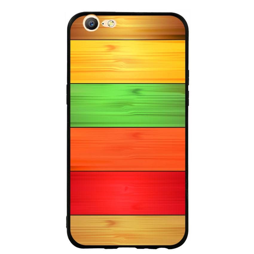 Ốp lưng nhựa cứng viền dẻo TPU cho điện thoại Oppo Neo 9S - Sắc Màu
