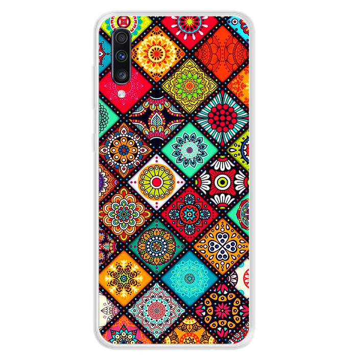 Ốp lưng dẻo cho điện thoại Samsung Galaxy A70 - 0103 THOCAM05 - Hàng Chính Hãng