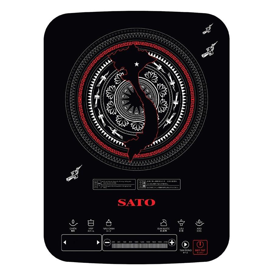 Bếp Điện Từ Đơn Sato STB-204 (Tặng Kèm Nồi Inox) - 1280589 , 7133103130473 , 62_12379136 , 2129000 , Bep-Dien-Tu-Don-Sato-STB-204-Tang-Kem-Noi-Inox-62_12379136 , tiki.vn , Bếp Điện Từ Đơn Sato STB-204 (Tặng Kèm Nồi Inox)