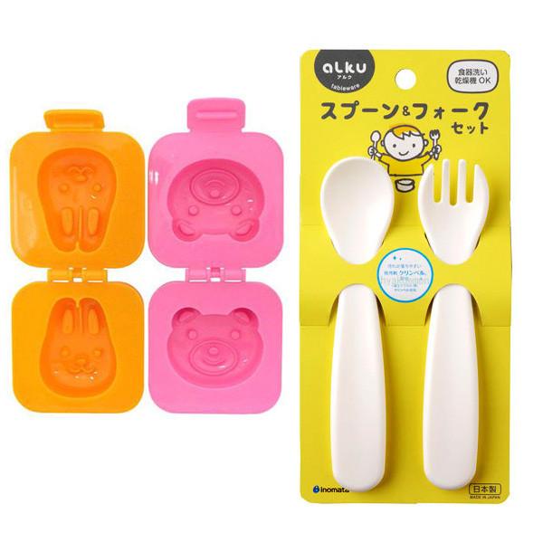 Combo khuôn tạo hình cơm, trứng hình gấu và thỏ + bộ thìa nĩa nhựa cho bé nội địa Nhật Bản - 1366455 , 3722895692692 , 62_6165501 , 148000 , Combo-khuon-tao-hinh-com-trung-hinh-gau-va-tho-bo-thia-nia-nhua-cho-be-noi-dia-Nhat-Ban-62_6165501 , tiki.vn , Combo khuôn tạo hình cơm, trứng hình gấu và thỏ + bộ thìa nĩa nhựa cho bé nội địa Nhật Bản