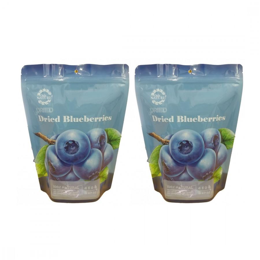Combo 2 Túi Việt Quốc Sấy Khô - Dried BlueBerries (450g/túi)