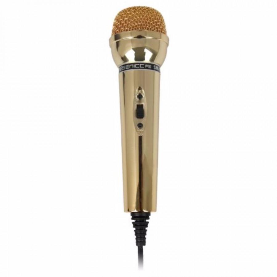 Micro thu âm cho PC, laptop  SM-098 (vàng) tặng kèm 1 móc khóa huýt sáo - 1780619 , 9553275143749 , 62_13135635 , 600000 , Micro-thu-am-cho-PC-laptop-SM-098-vang-tang-kem-1-moc-khoa-huyt-sao-62_13135635 , tiki.vn , Micro thu âm cho PC, laptop  SM-098 (vàng) tặng kèm 1 móc khóa huýt sáo