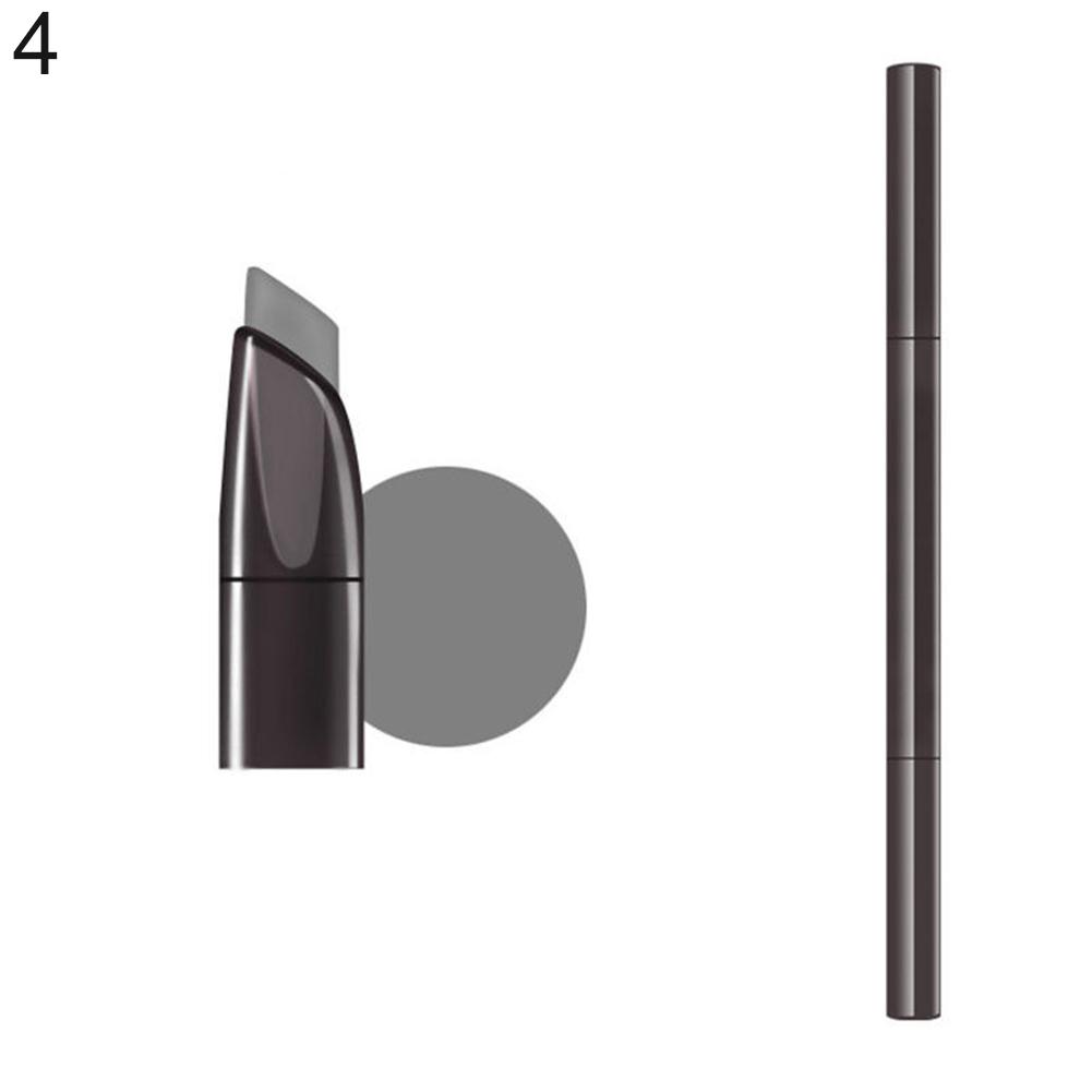 1 Pc Waterproof Makeup Dual Head Pen Eyebrow Liner Pencil Brush