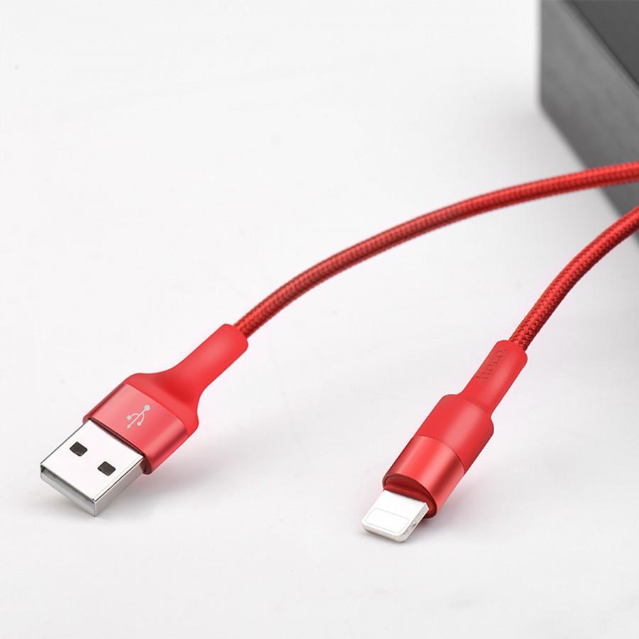 Cáp Sạc Hoco X26 Dùng Cho Các Loại Thiết Bị Của Apple(Iphone, Ipar) - Dài 2 Mét