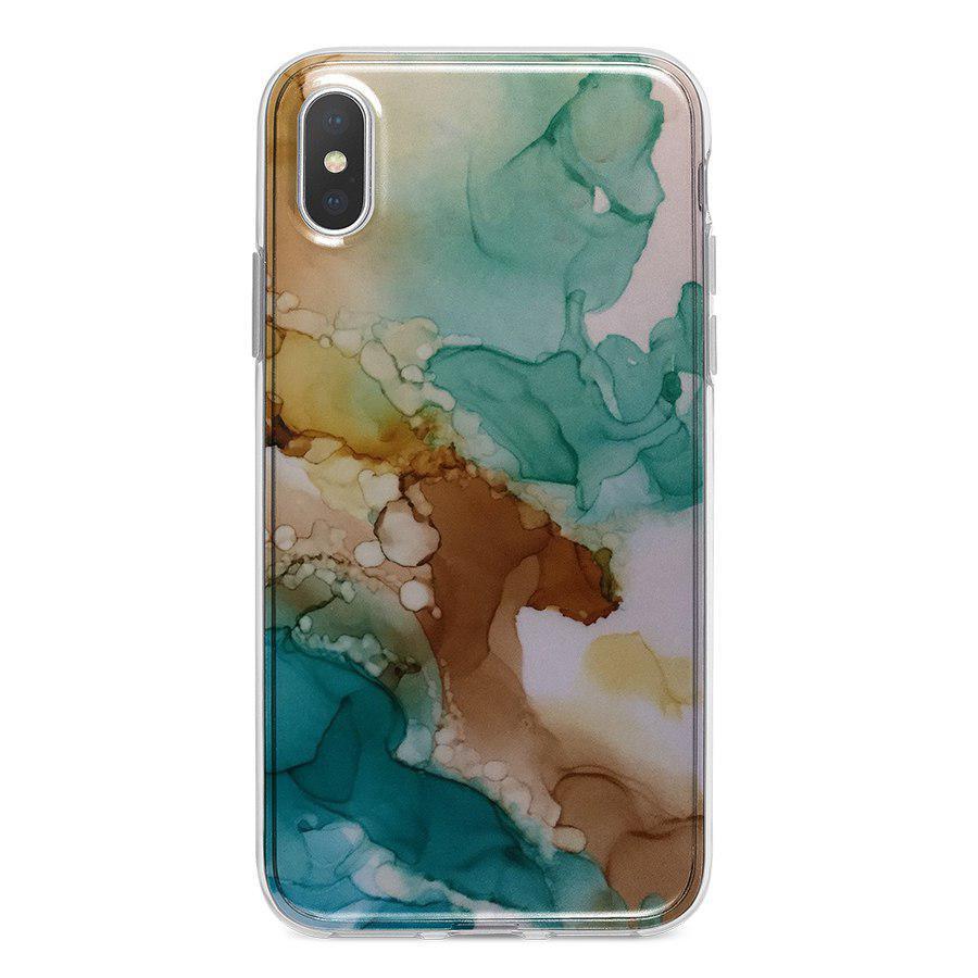 Ốp Lưng Điện Thoại Vân Đá Cho iPhone X A-001-009-C-IPX