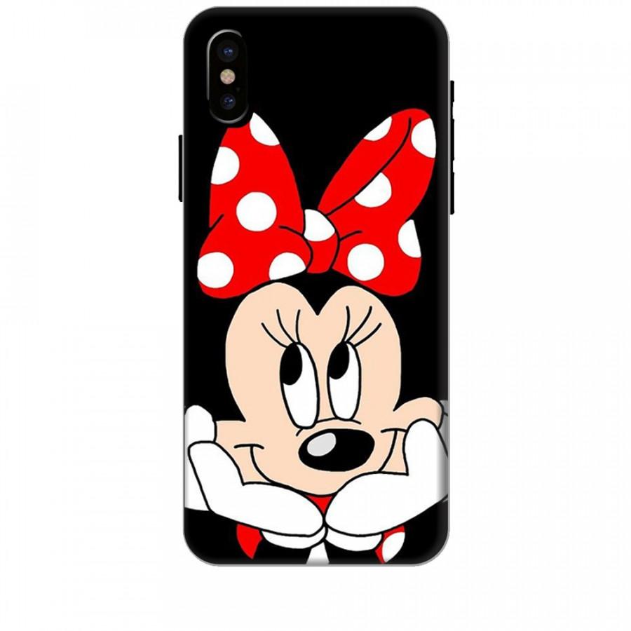 Ốp lưng dành cho điện thoại IPHONE X Mickey Làm Duyên