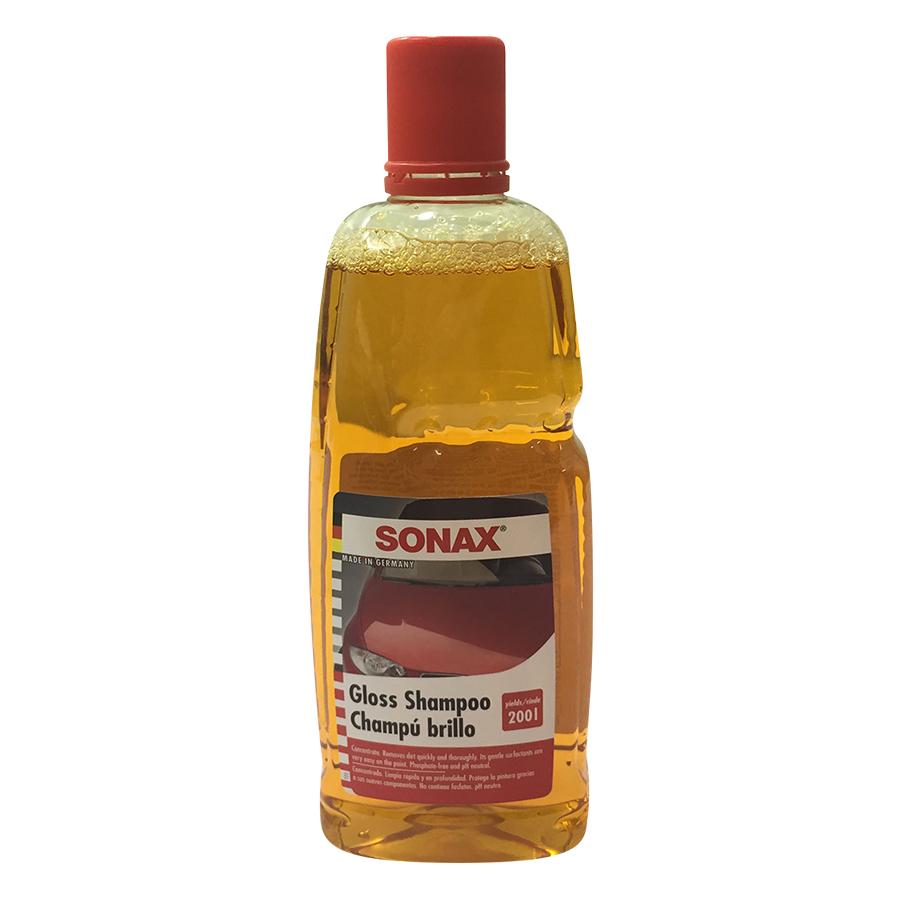 Nước Rửa Xe Sonax Gloss Shampoo - Vàng (1000ml)