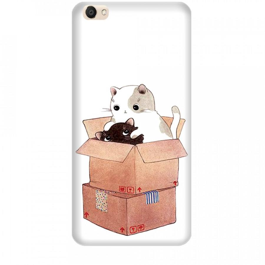 Ốp lưng dành cho điện thoại VIVO V5 Mèo Con Dễ Thương