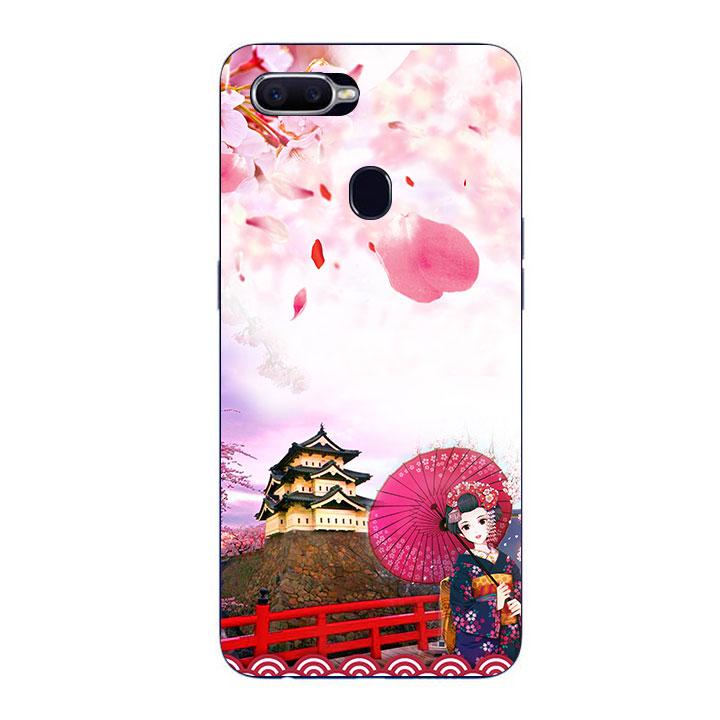 Ốp Lưng Dẻo Cho Điện thoại Oppo F9 - Nhật Bản
