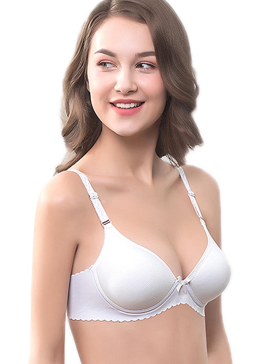 Áo lót nữ thông hơi không gọng bàn tay nâng ngực ZBra - ZAB1