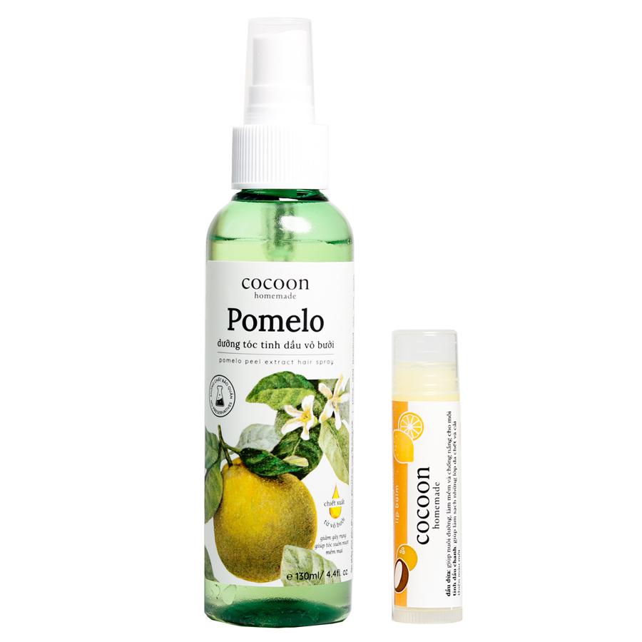 Pomelo xịt dưỡng tóc tinh dầu vỏ bưởi cocoon (130ml) [Tặng 1 Son] - 966638 , 3366384060571 , 62_5996019 , 110000 , Pomelo-xit-duong-toc-tinh-dau-vo-buoi-cocoon-130ml-Tang-1-Son-62_5996019 , tiki.vn , Pomelo xịt dưỡng tóc tinh dầu vỏ bưởi cocoon (130ml) [Tặng 1 Son]