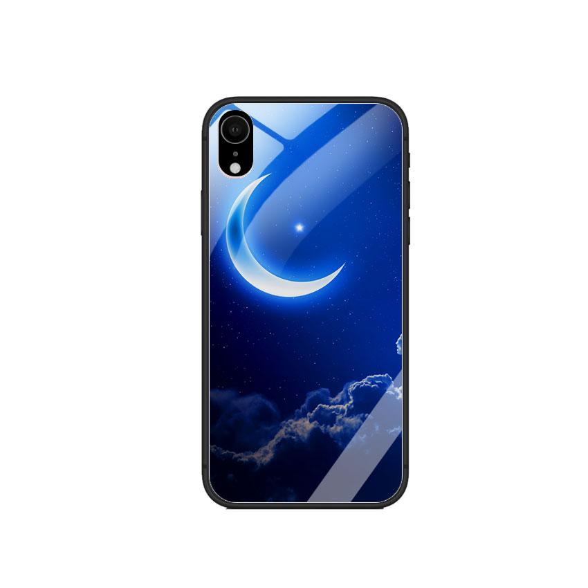 Ốp Lưng Kính Cường Lực cho điện thoại Iphone XR - 0220 MOON01