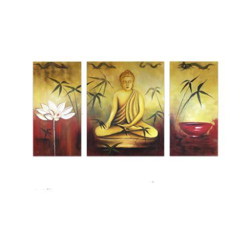 Bộ 3 Tranh Phật Thích Ca Nhiệm Mầu