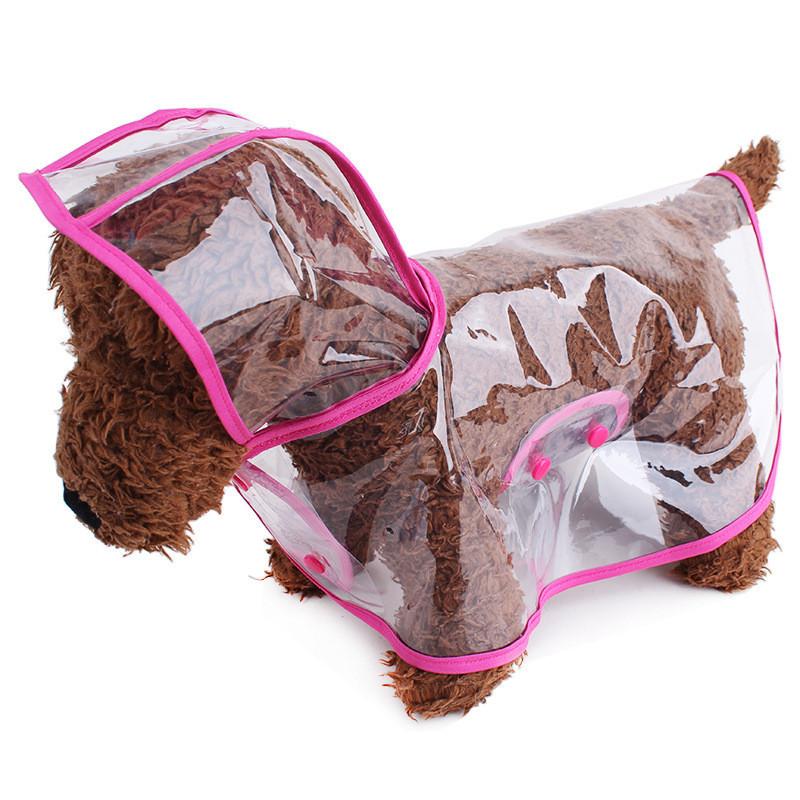 Áo mưa trong suốt cho chó mèo