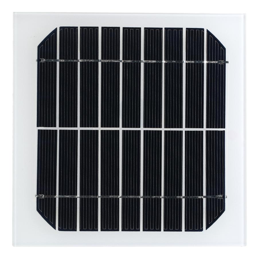 Tấm Pin Mặt Trời Đa Tinh Thể Cho Xe Ô Tô (9v) (3.5w)