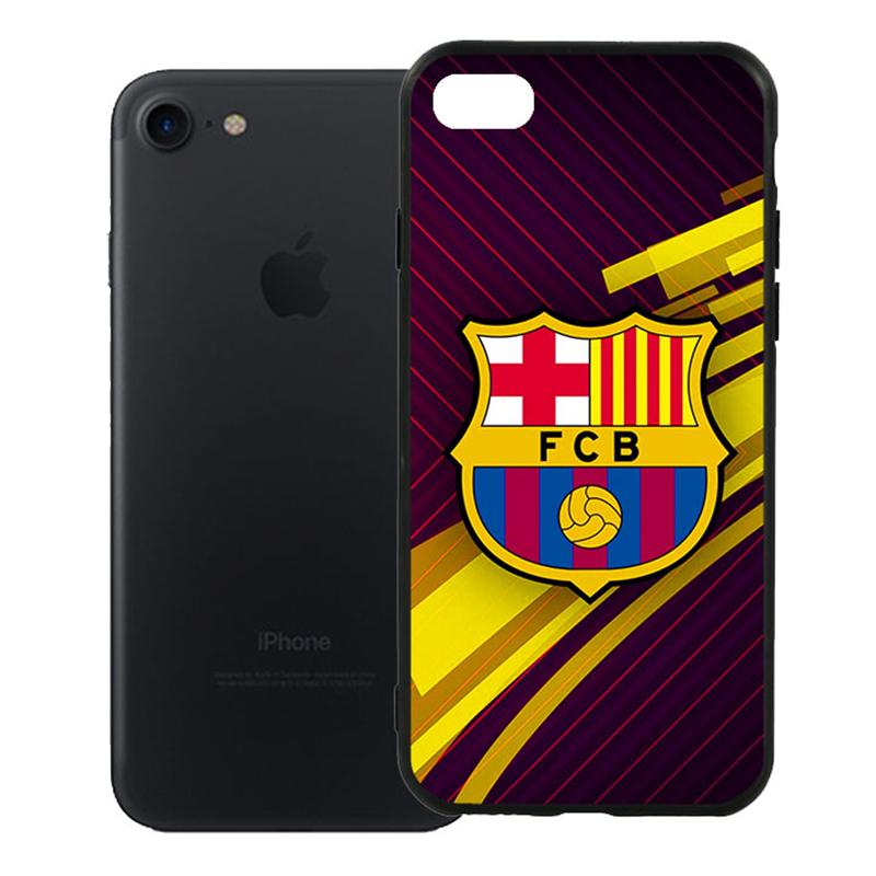 Ốp Lưng Viền TPU Cao Cấp Dành Cho iPhone 7 - Clb Barcelona 01