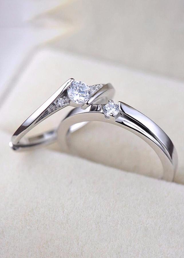 Nhẫn đôi bạc 925 cao cấp - 2024748 , 4300952991958 , 62_10838360 , 499000 , Nhan-doi-bac-925-cao-cap-62_10838360 , tiki.vn , Nhẫn đôi bạc 925 cao cấp