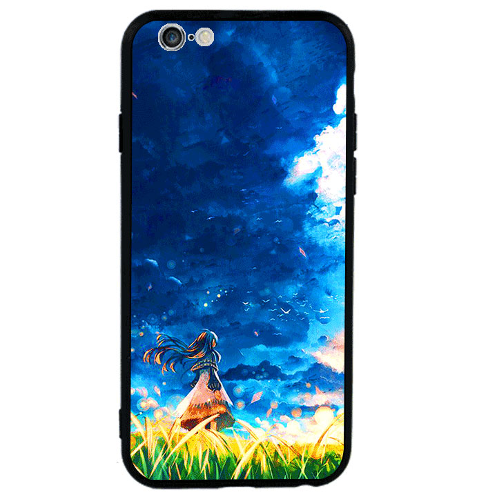 Ốp lưng viền TPU cao cấp cho Iphone 6 Plus - Little Girl
