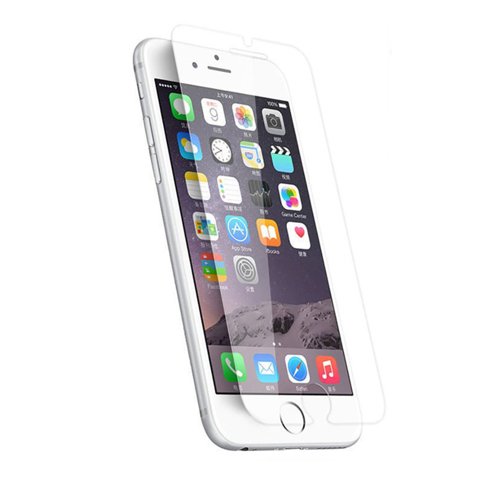 2.5D 9H Premium Real Tempered Glass Film Flat Screen Protector Guard for iPhone