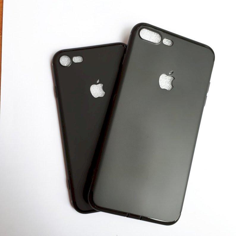 Ốp lưng dành cho iPhone 6plus hở táo màu đen